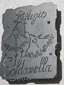 Targa rifugio Soldanella